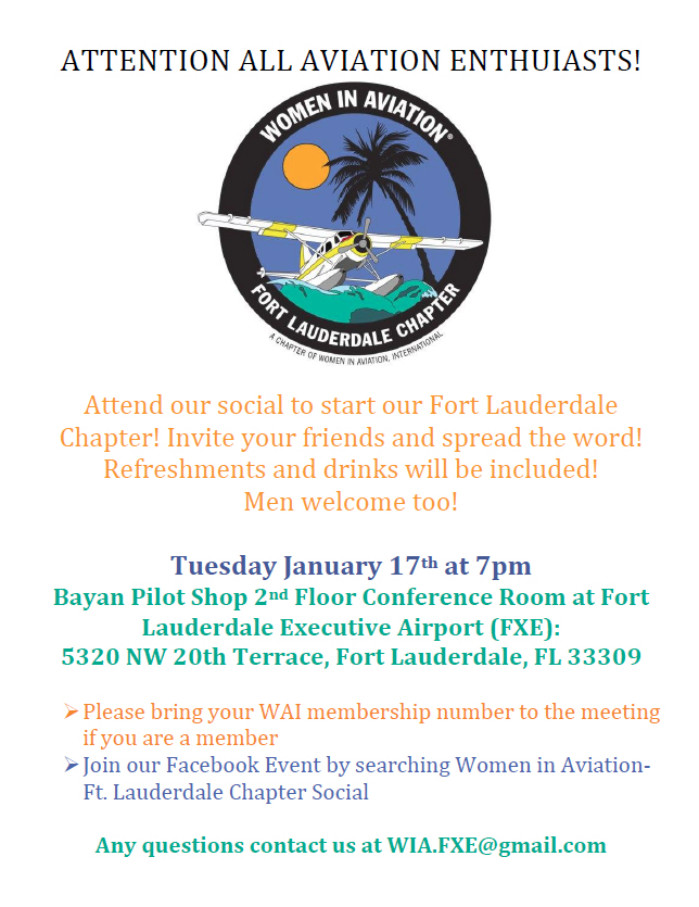 South Florida Business Aviation Association - Women in
